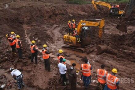 Pune village landslide: Hope for survival fades as toll rises