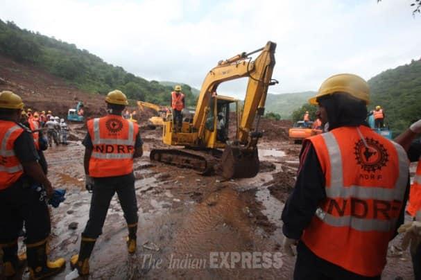 Pune village landslide: Hope for survival fades as toll rises