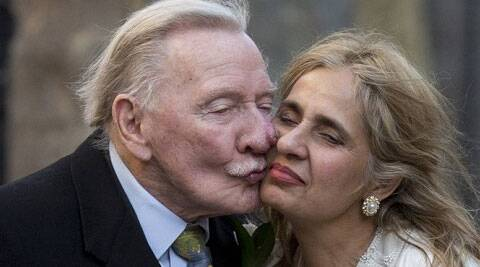 Actor Leslie Phillips is recuperating in hospital after he suffered a minor stroke during a bus journey. The 90-year-old 'Carry On' star experienced pain in his arm, while he was travelling home with wife Zara after a shopping trip, reported the Daily Mirror. (Source: Reuters)