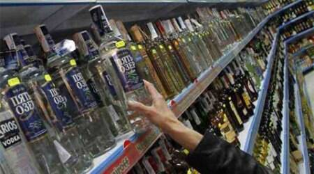 Stolen foreign liquor worth Rs 66 lakh recovered, two held