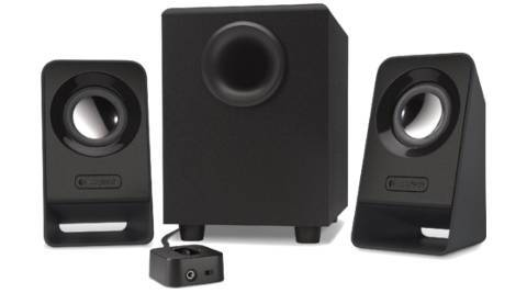 logitech Z 213 multimedia speakers