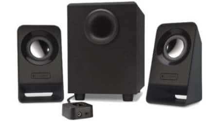 logitech Z 213 multimedia speakers