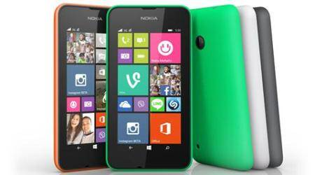 Lumia 530 Group shot