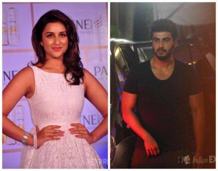 'Ishaqzaade'  Arjun, Parineeti in black and white