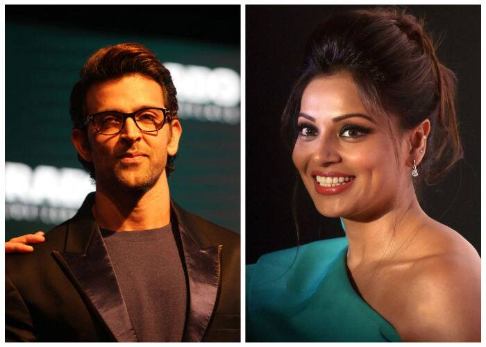 Bollywood stars Hrithik Roshan and Bipasha Basu had a busy day with their own respective commitments. While Hrithik attended a promotional event for a watch brand, Bipasha was at a press conference for the upcoming Delhi half-marathon.