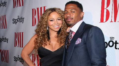 Nick Cannon and Mariah Carey have three-year-old twins Moroccan and Monroe. (Source: AP)