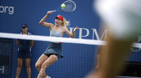 After losing the first set, Maria Sharapova bounced back to reach the third round with a 4-6 6-3 6-2 victory in warm breezes (Source: AP)