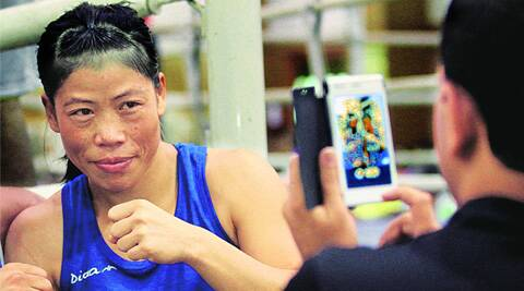 Mary Kom won a bronze medal in her last Asian Games.