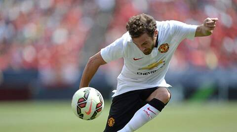 United Winger Juan Mata was all praise for  manager Van gaal