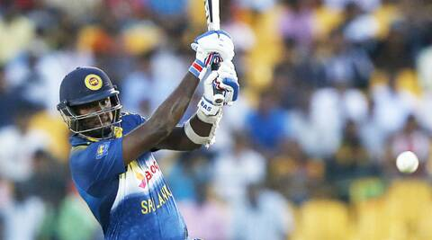 In-form Mathews and Perera added 87 for the seventh wicket as Sri Lanka added 80 in their last six overs to set Pakistan a steep target. (Source: Reuters)