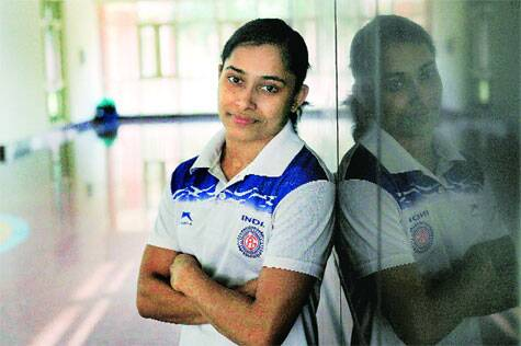 Karmakar has logged the highest score on a Produnova in the world, a high-risk skill. 'There can be death if you land on the neck, there's death if you go down headlong' (Source: Ravi Kanojia)