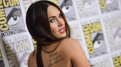 Megan Fox has already proven her action chops in 'Transformers'. (Source: AP)