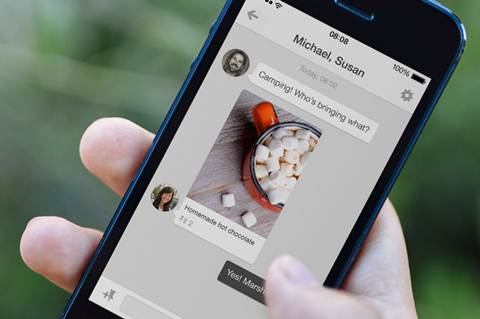 Pinterest has recently launched a messaging service to trigger conversations around pins