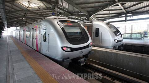 Mumbai Metro: One of the greenest way you can live is to opt for public transport. (Source: Express Archives)