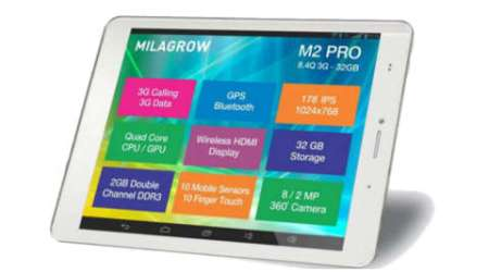 Milagrow M2 Pro 3G 32 GB review: Good intent, but this tab is a bit too heavy on wallet and your hands