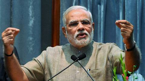 Modi had on Saturday also laid the foundation of Rs 4000 crore multi-product Special Economic Zone project. (source: PTI)