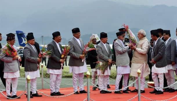 Narendra Modi visits Nepal