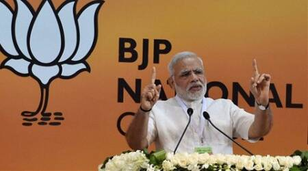 The Prime Minister said, The BJP never accepts incidents of violence, which are now taking place in the country. (Source: PTI)
