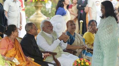 At the meetings, Modi asked the MPs to give a brief resume of their achievements and goals for their constituency.