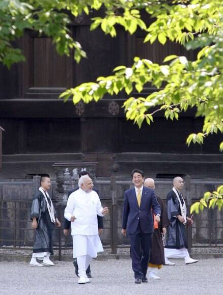 PM Narendra Modi visits Japan