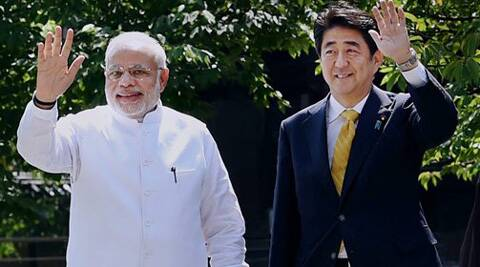 After busy day in Kyoto,Modi arrives in Tokyo for summit talks. (Source: PTI)