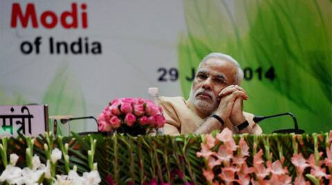 Prime minister Narendra Modi. ( Source: Express photo )