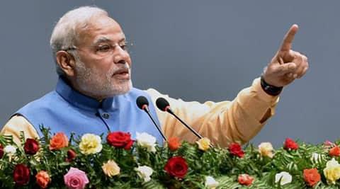 Narendra Modi donated 2500 kgs of chandan (sandalwood) to the Pashupatinath Temple trust. (Source: PTI photo)