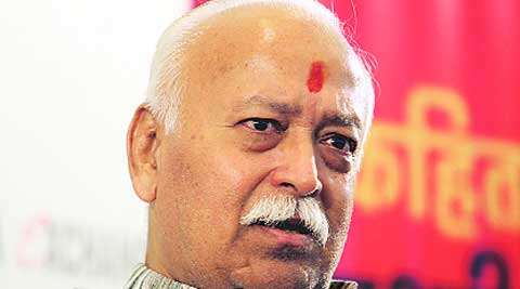 """Bhagwat cautioned that the lives of local Hindu communities, law and order situation and the national security were under """"serious threat"""" in states like Kerala, Tamil Nadu, West Bengal and Assam, all ruled by non-BJP parties."""