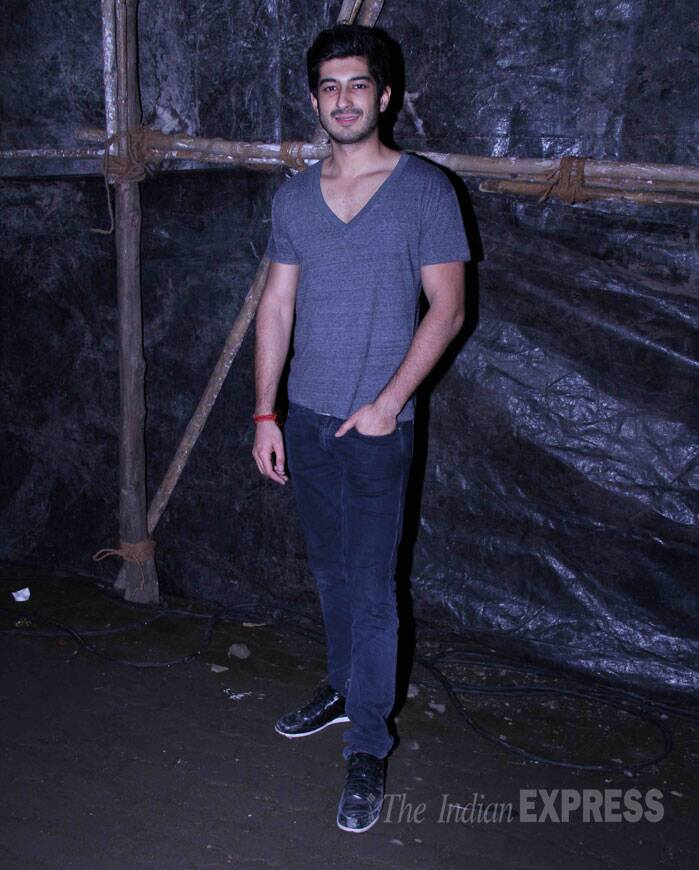 Arjun's cousin Mohit Marwah, who was last seen in 'Fugly', was also present. (Source: Varinder Chawla)