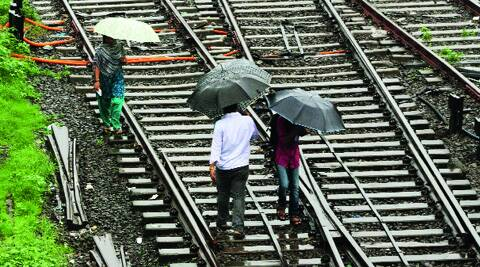 IMD officials have forecast heavy to very heavy rainfall at isolated places over the next 48 hours. (Expess photo byPradip Das)