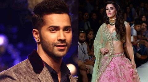 """Nargis Fakhri has denied reports of dating her """"Main Tera Hero"""" co-star Varun Dhawan, saying she is romantically linked with herself and not anyone else."""