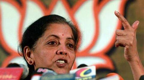 Nirmala Sitharaman, minister of state for commerce, corporate affairs and finance. (Reuters)
