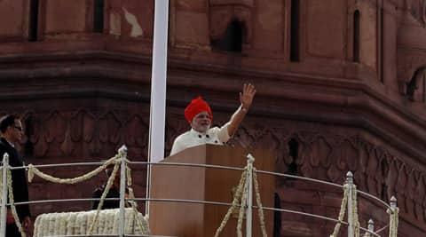 Prime Minister Narendra Modi. (Express photo by Neeraj Priyadarshi)