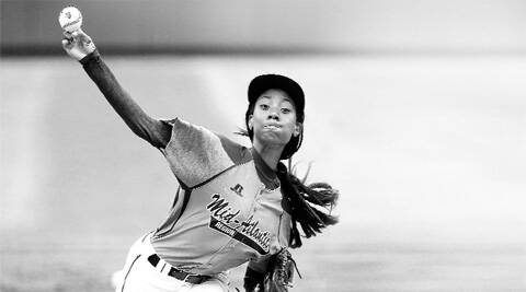 Davis is the first girl to throw a shutout (when a single pitcher pitches a complete game and does not allow the opposing team to score a run) at the Series.