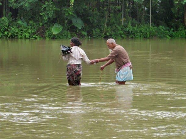 Over 12 lakh affected in Assam floods