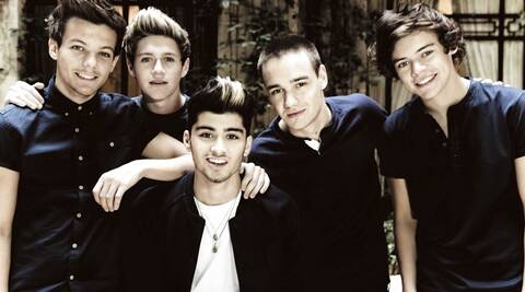 One Direction comprises Niall Horan, Zayn Malik, Liam Payne, Harry Styles and Louis Tomlinson.