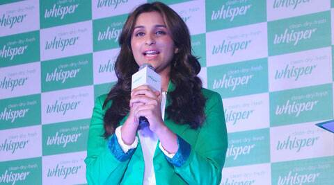 """Why would I tell Adi and why would he listen to me? I don't have that kind of power and it's absolutely ridiculous,"" Parineeti Chopra said and added Priyanka is a senior actress and there cannot be any competition between them. (Source: Varinder Chawla)"