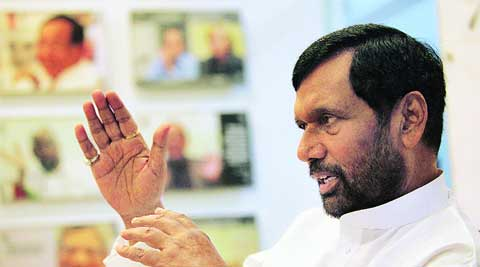 Minister of Consumer Affairs, Food and Public Distribution Ram Vilas Paswan