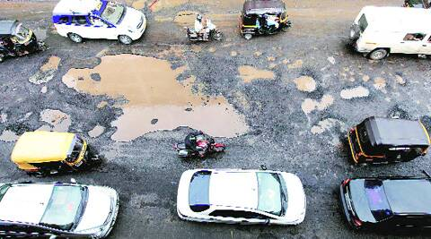 4,911potholes were recorded on the civic body's pothole-tracking website www.voiceofcitizen.com till August 6.