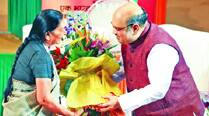 For CM Patel, it's first busyRakshabandhan