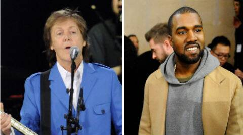 Kanye West and Paul McCartney have known each other for a long time but have become more friendly recently. (Source: AP)