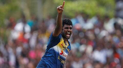 Sri Lanka pacer Perera took four wickets