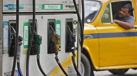 Petrol will cost Rs 64.25 a litre in Delhi from tomorrow as against Rs 66.65 currently. In Mumbai, the rate will be cut by Rs 2.55 a litre to Rs 71.91. (Source: Express Archives)