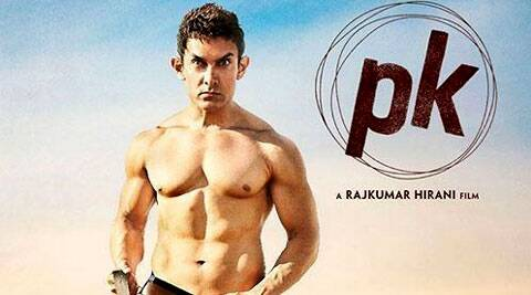 A talking standee of Aamir Khan from movie PK had to be removed from the Gaiety-Galaxy theatres, after a group of women protested.