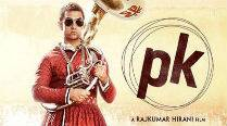 Aamir Khan covers up for second 'PK' poster
