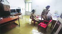 Every monsoon, this police station nearly 'drowns'