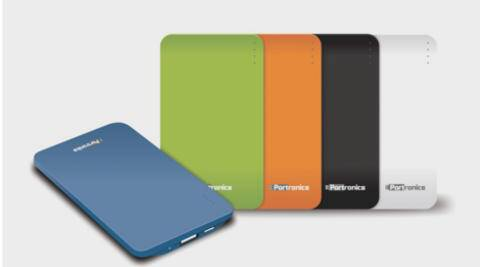portronics power slice portable charger