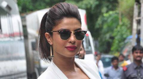 Priyanka Chopra is constantly promoting 'Mary Kom'.