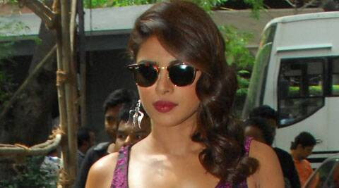 Priyanka Chopra said the key to fit body is to eat and then work out equally.