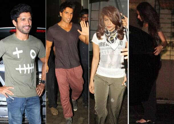 Priyanka, Ranveer shoot for 'Dil Dhadakne Do' in Mumbai, Shraddha's late night meet with Aditya